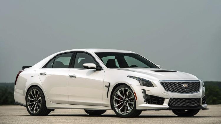 Cadillac CTS-V đạt tốc độ 96km/h trong 3,5 giây.