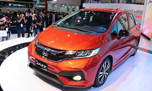 Honda Jazz - mẫu Hatchback 5 cửa lần đầu tiên được ra mắt tại Việt Nam.