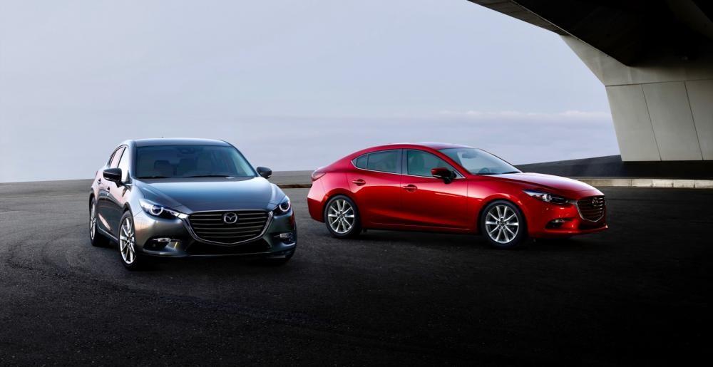 Mazda3 2018 nâng cấp trang bị và công nghệ phanh tự động..