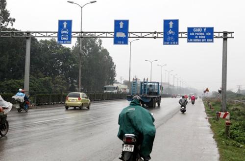 Những điểm mới trong luật giao thông đường bộ 3