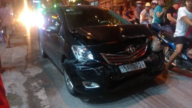 Hải Phòng: Phụ nữ cầm lái Mazda CX-5 gây tai nạn liên hoàn 2.