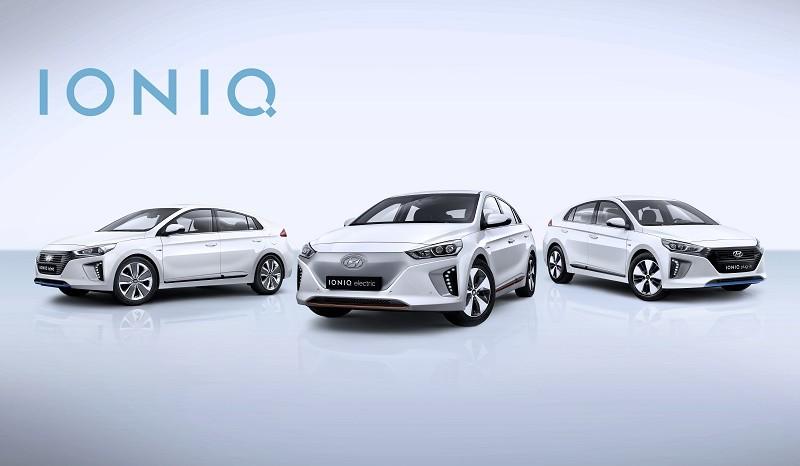 Hyundai Ioniq điện.