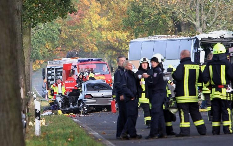 Tai nạn giao thông ở Đức.