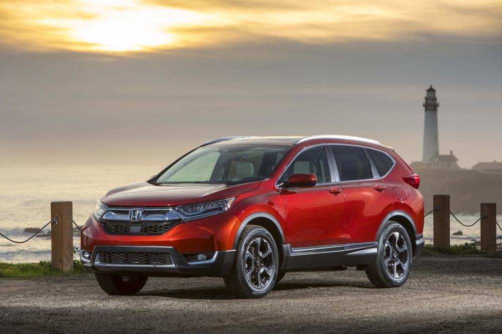 đầu xe Honda CR-V 2017 3