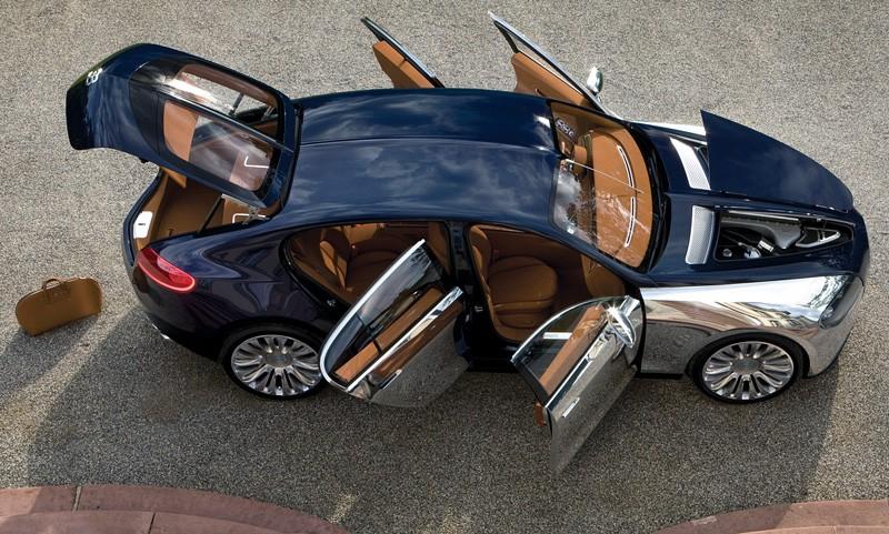 Bugatti Galibier khi mở cửa 8