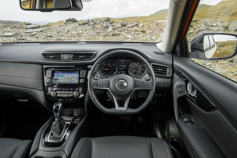 vô lăng Nissan X-Trail 2018 11