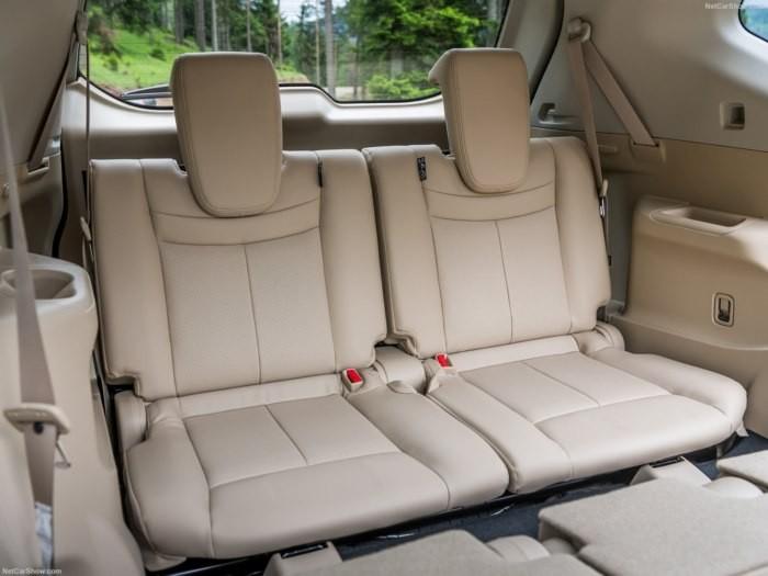 ghế sau Nissan X-Trail 2018 9