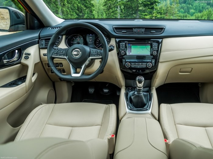 nội thất Nissan X-Trail 2018 7