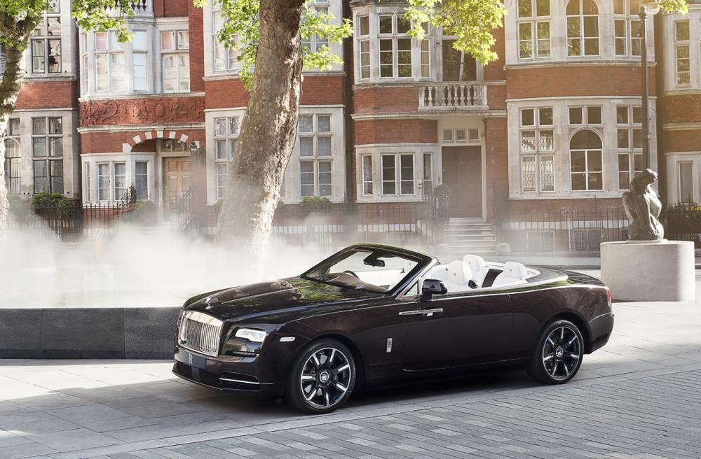 đầu xe Rolls-Royce Dawn Mayfair Edition 7