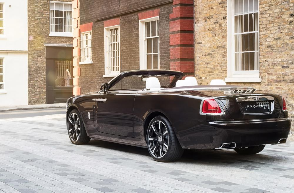 đuôi xe Rolls-Royce Dawn Mayfair Edition 5