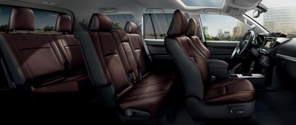 ghế xe Toyota Land Cruiser Prado 2018 15
