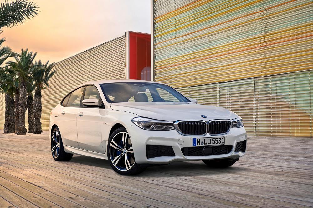 đầu xe BMW 6-Series GT 1