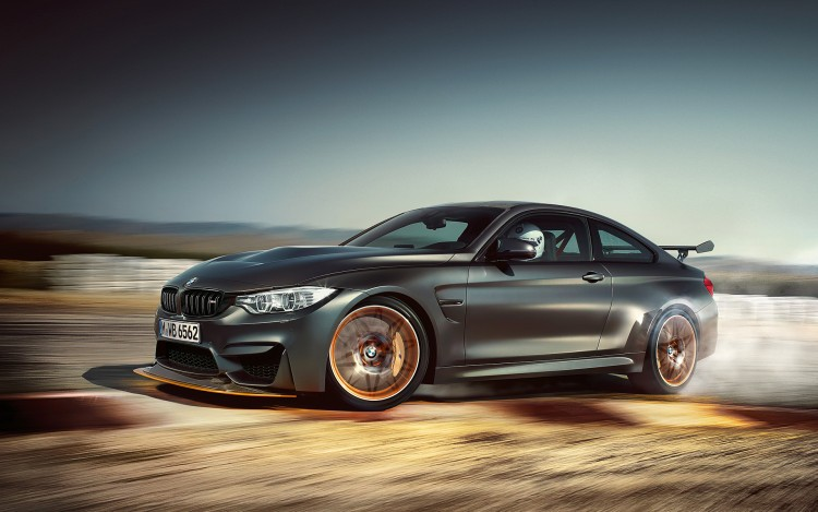 BMW M4 GTS trên đường chạy 4