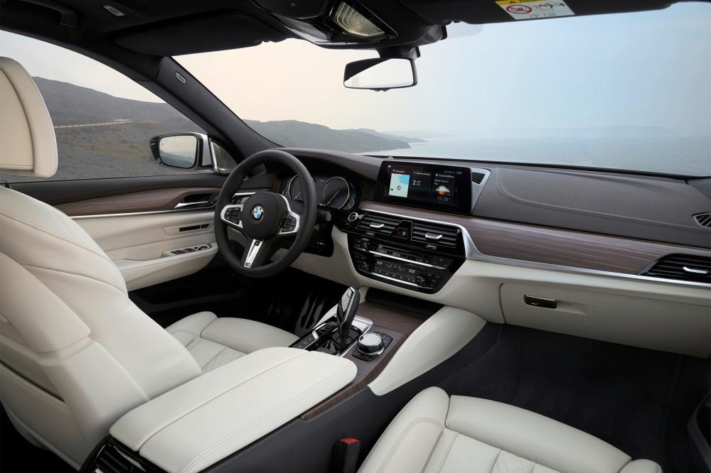 nội thất BMW 6-Series GT 11