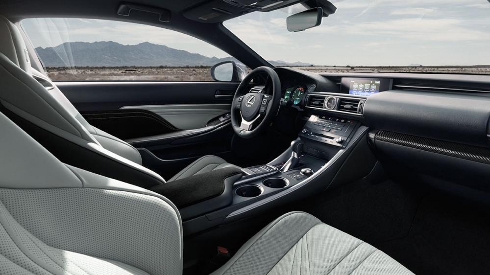 ghế trước Lexus RC F 12