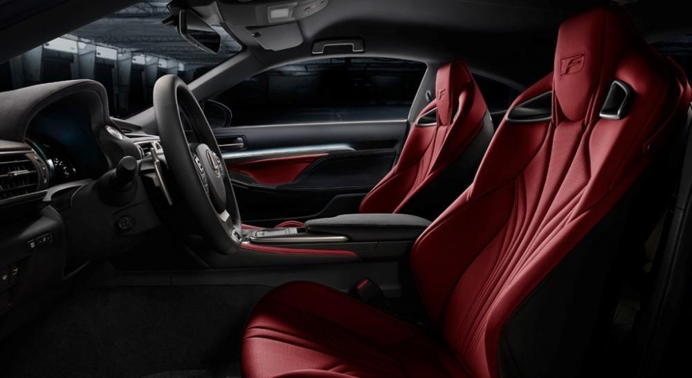 ghế trước Lexus RC F 11