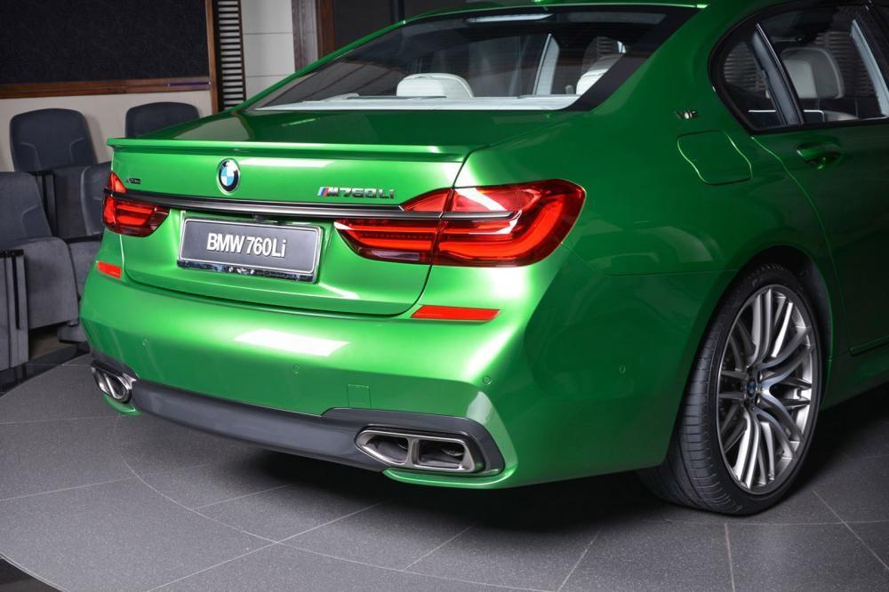 ống xả BMW M760Li Rallye Green 11