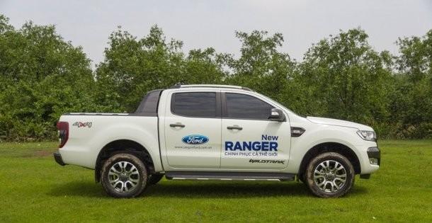 Thân xe của Ford Ranger 2016