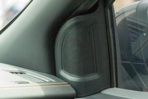 Dàn âm thanh của Ford Ranger 2016