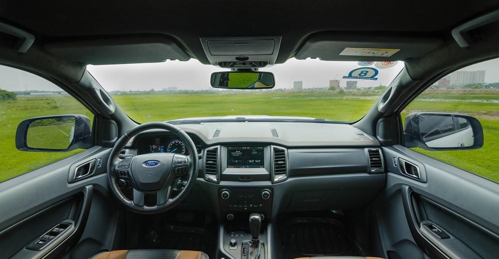 Nội thất của Ford Ranger 2016