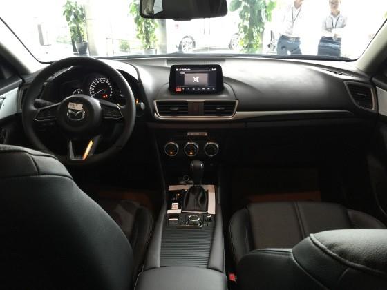 Nội thất Mazda 3 2017 7