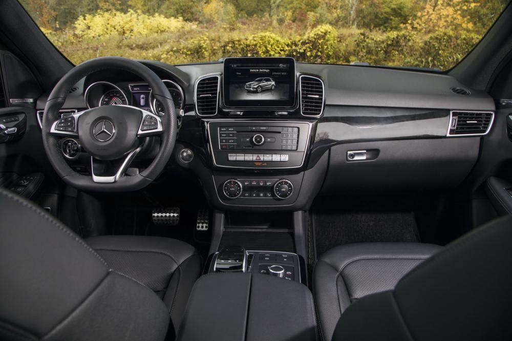 nội thất Mercedes-AMG GLE43 8