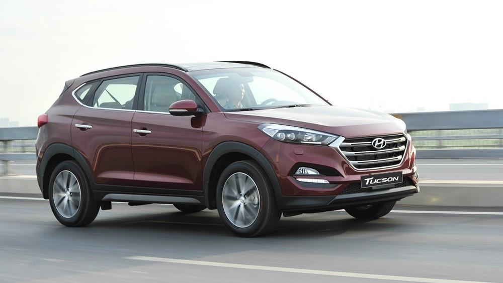Hyundai Tucson 2.0 có độ bốc và tính thể thao.