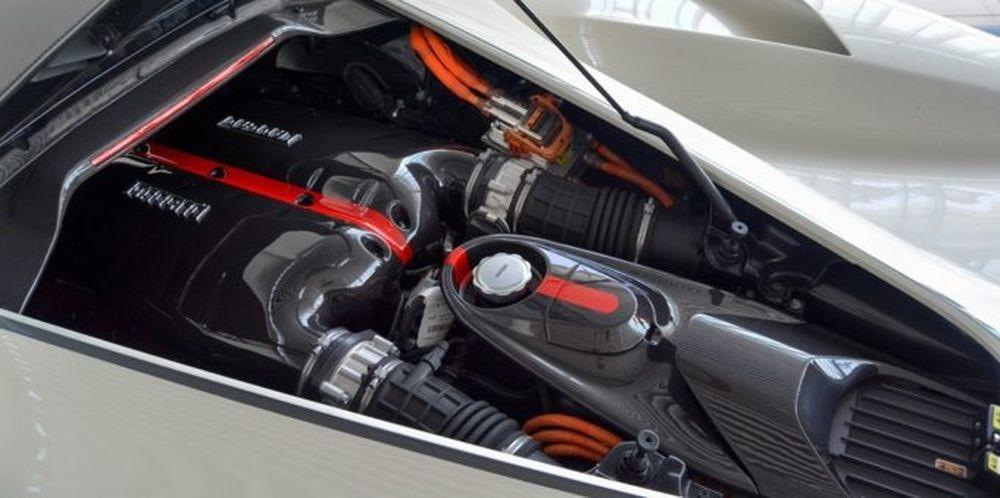 Động cơ của Ferrari LaFerrari Aperta