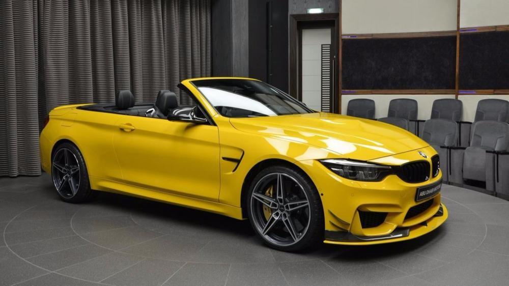 đầu xe BMW M4 Convertible Speed Yellow 3