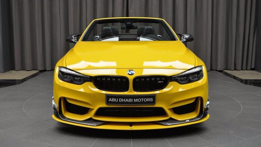 đầu xe BMW M4 Convertible Speed Yellow 1