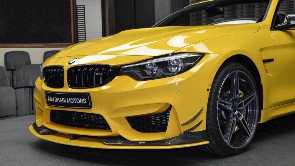 đèn xe BMW M4 Convertible Speed Yellow 8