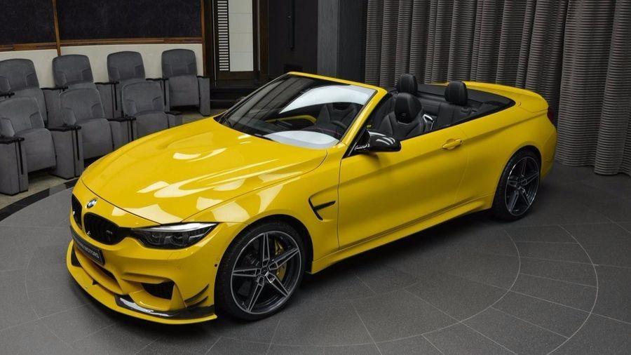 đầu xe BMW M4 1