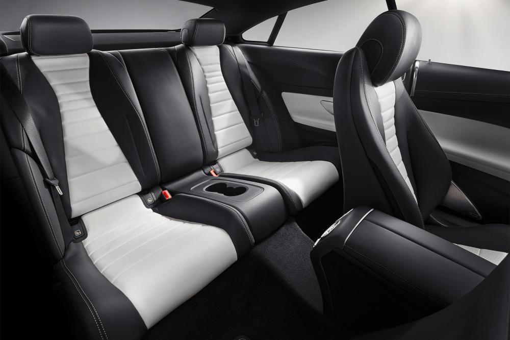 ghế sau Mercedes E300 Coupe 2018 14