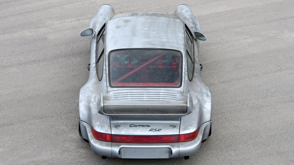 thân xe Porsche 911 Carrera RSR 4