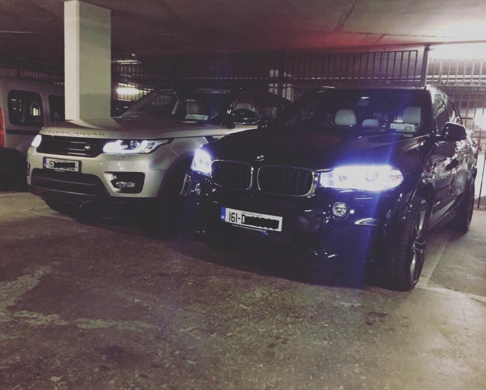 Range Rover và BMW 6