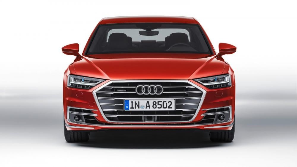 lưới tản nhiệt Audi A8 2018 7