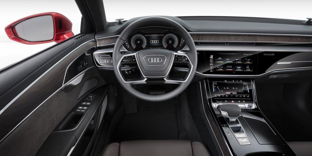 vô lăng Audi A8 2018 12