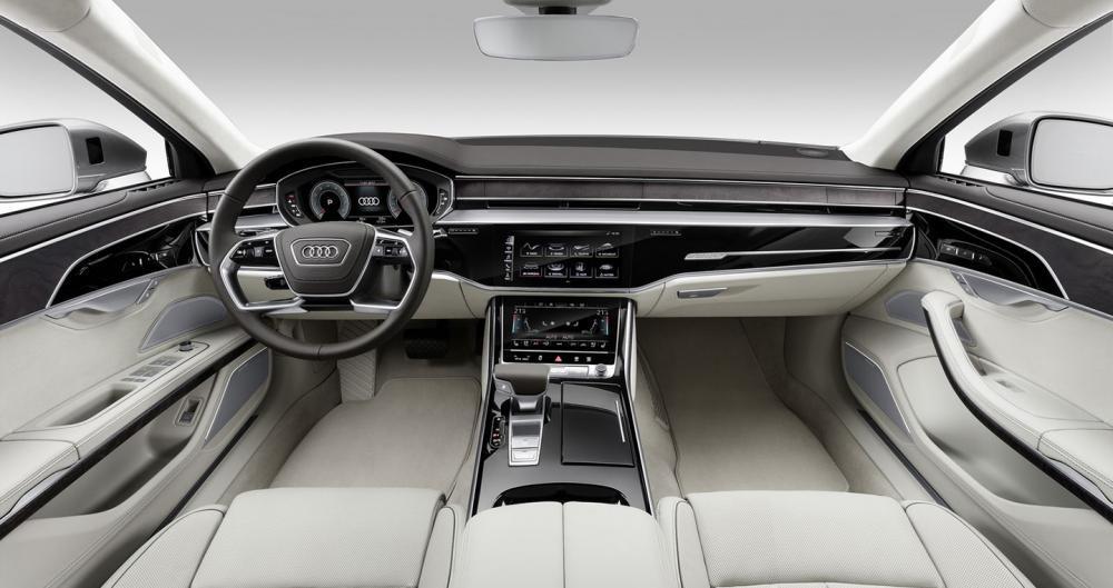 nội thất Audi A8 2018 11