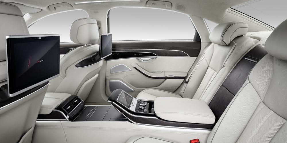 ghế sau Audi A8 2018 13