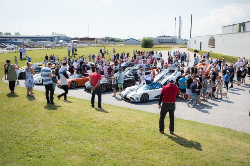 Chiêm ngưỡng dàn siêu xe Koenigsegg số lượng kỷ lục cùng tụ hội tại Thụy Điển 15