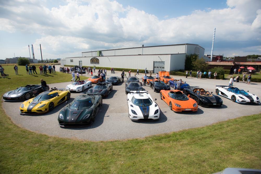 Chiêm ngưỡng dàn siêu xe Koenigsegg số lượng kỷ lục cùng tụ hội tại Thụy Điển 3