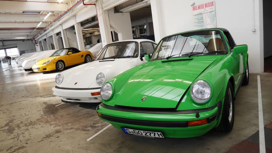 Carrera 3.0 Targa màu xanh 11