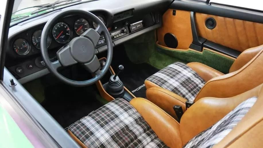 nội thất Porsche 7