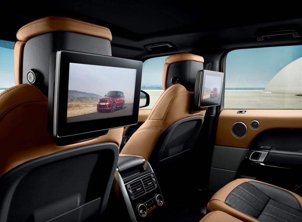 màn hình ghế sau Range Rover Sport 2018 16