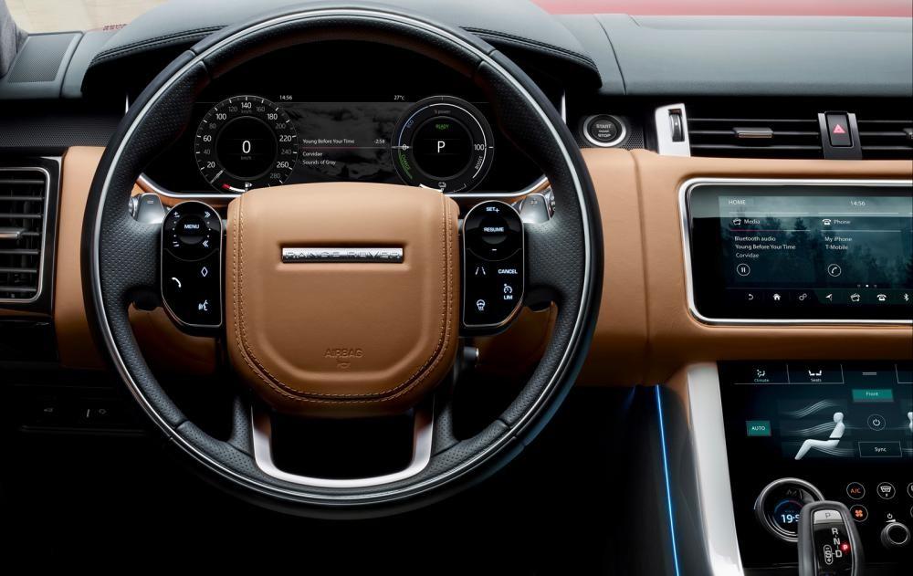 vô lăng Range Rover Sport 2018 13