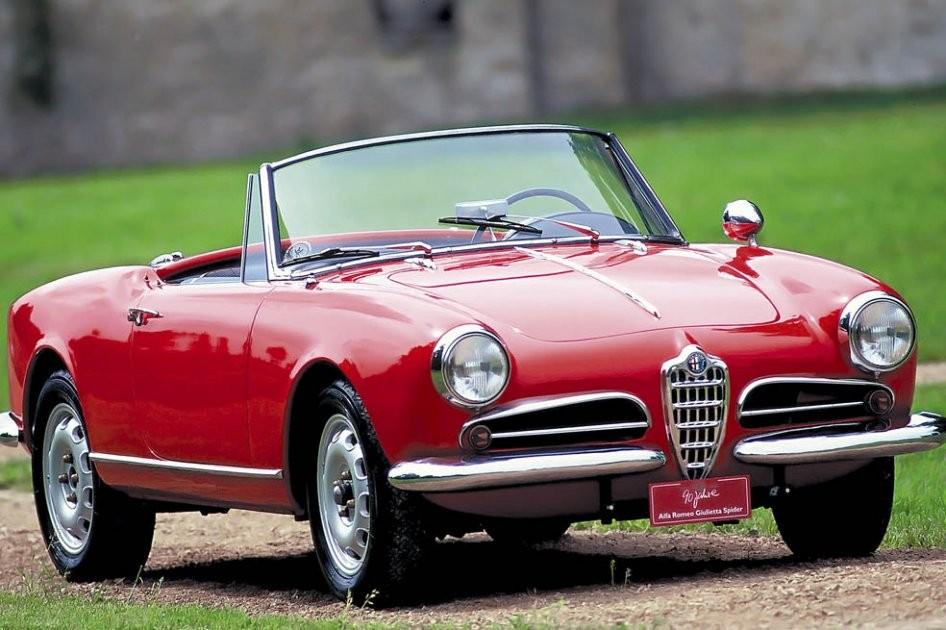 Alfa Romeo Spider Duetto 4