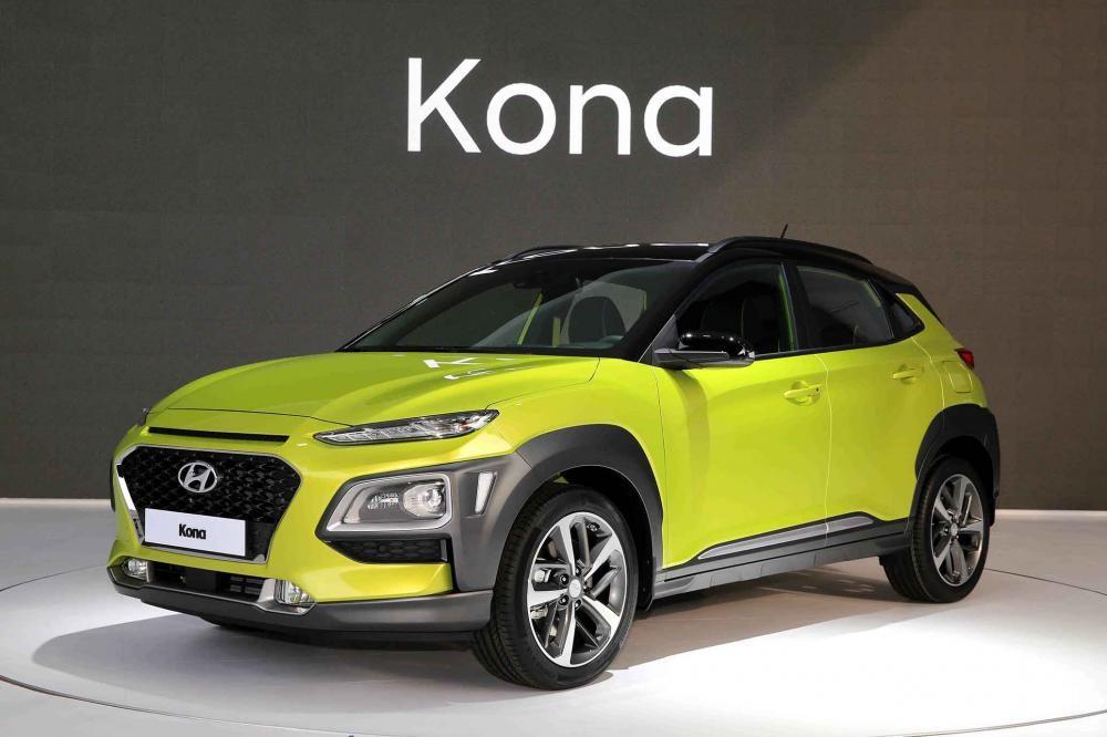 Hyundai Kona ra mắt
