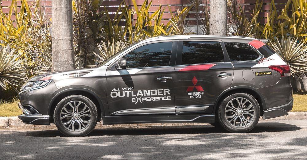 Thân xe của Mitsubishi Outlander 2017
