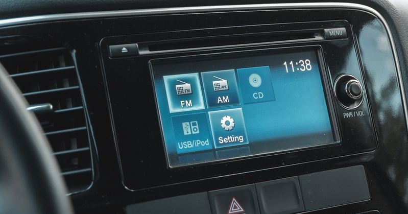Hệ thống giải trí của Mitsubishi Outlander 2017