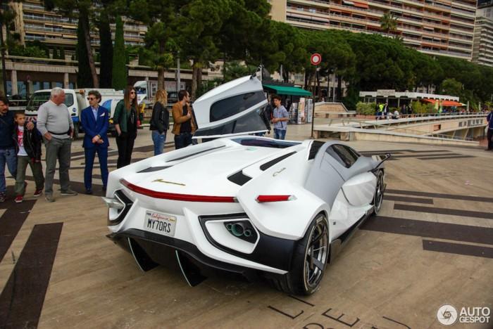 Siêu xe FV-Frangivento Asfanè có thân hình nêm khí động học